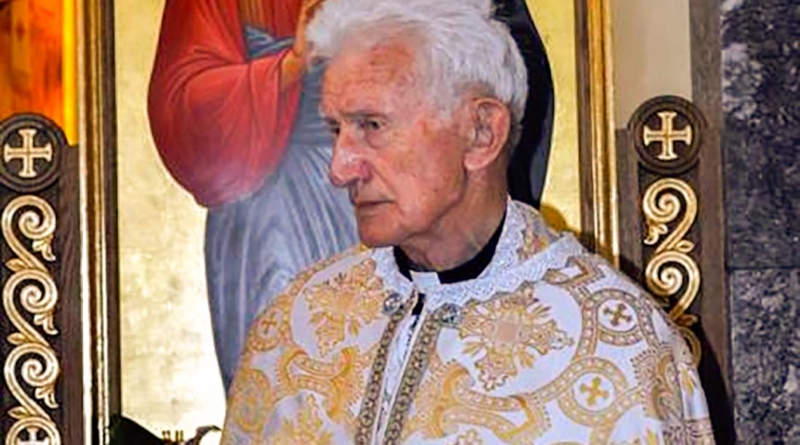 Перша річниця смерті отця Василя Сапеляка