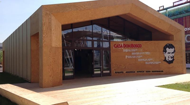 Відкриття павільйону «Casa Don Bosco»