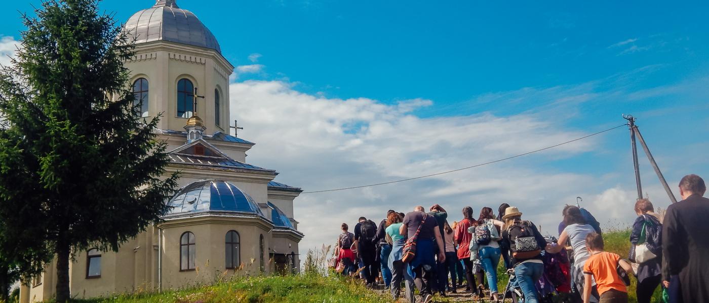 Відео з прощі в Новосілки