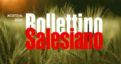 Bollettino Salesiano за жовтень