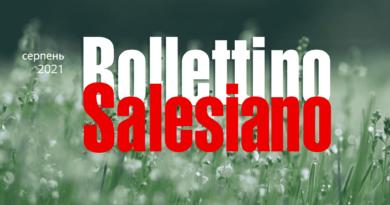 Bollettino Salesiano за серпень 2021